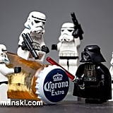 At least Vader knows how to party!