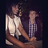 "Mindy Kaling shared this snap with B.J. Novak, writing, ""When it was still 2013."" Source: Instagram user mindykaling"