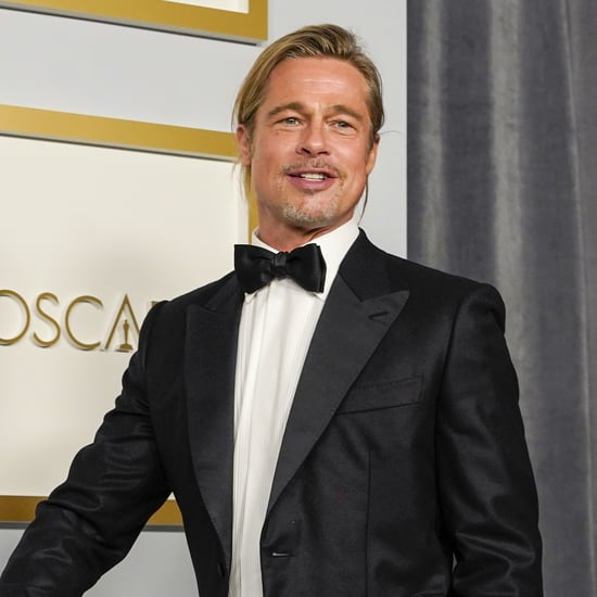 See Brad Pitt's Man Bun at the 2021 Oscars