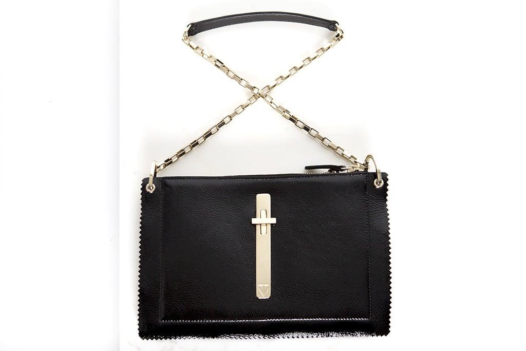 Attraction Patent Shoulder Bag in Black ($1,795) Photo courtesy of Tamara Mellon