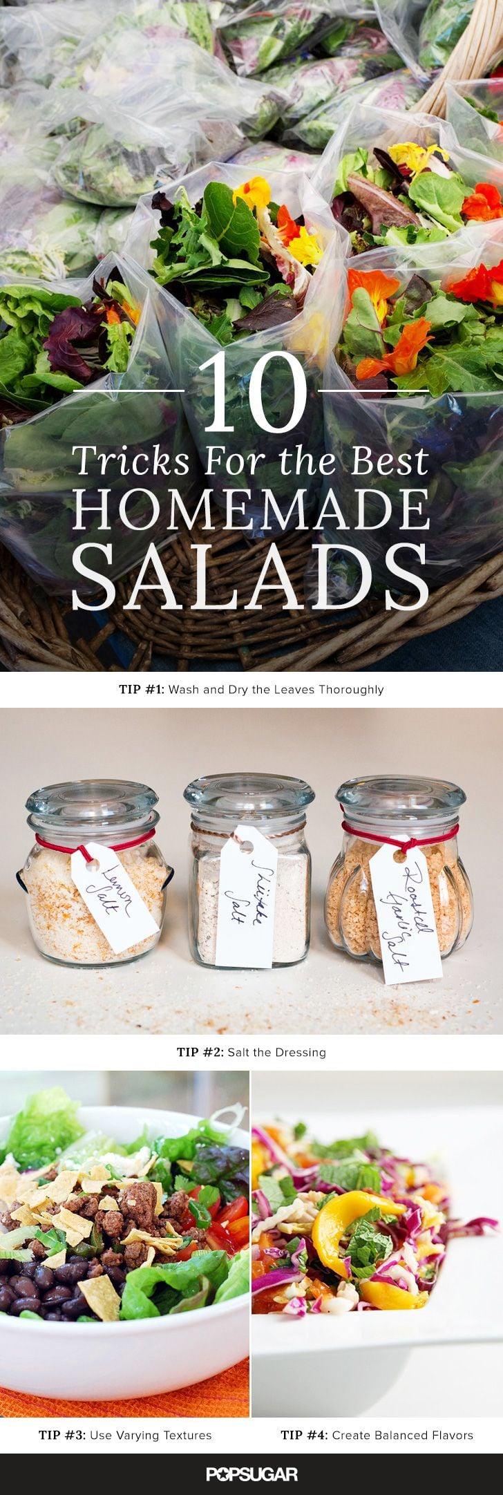 How to Make a Really Good Salad
