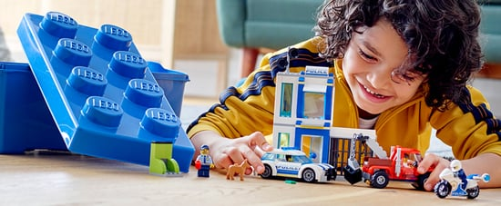 Lego Stops Ads For Police Building Sets