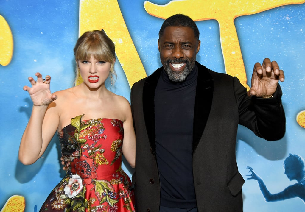Taylor Swift and Idris Elba at the Cats World Premiere in NYC