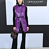 Liu Wen at Longchamp Fall 2019
