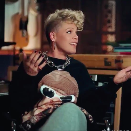 Pink Mistakes Son's Age in Documentary Trailer