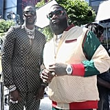 Pictured: 2 Chainz and Rick Ross