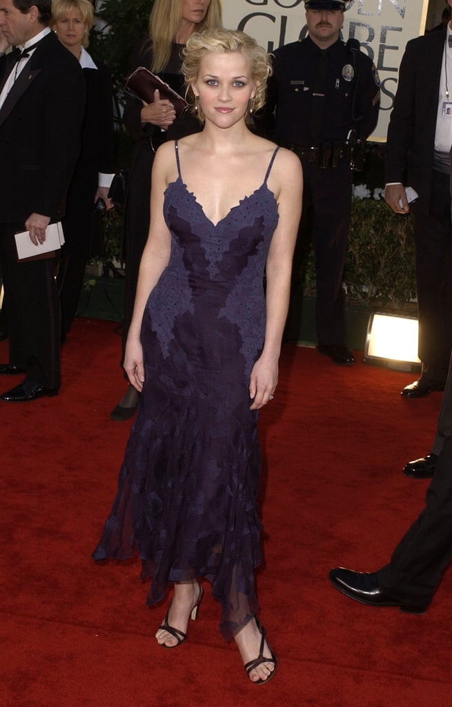 Reese Witherspoon at the 2002 Golden Globe Awards