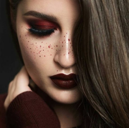 Burgundy Fall Makeup