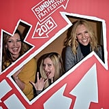 Allison Janney, Zoe Levin, and Toni Collette had some Sundance photo-booth fun at the premiere of their movie The Way, Way Back.