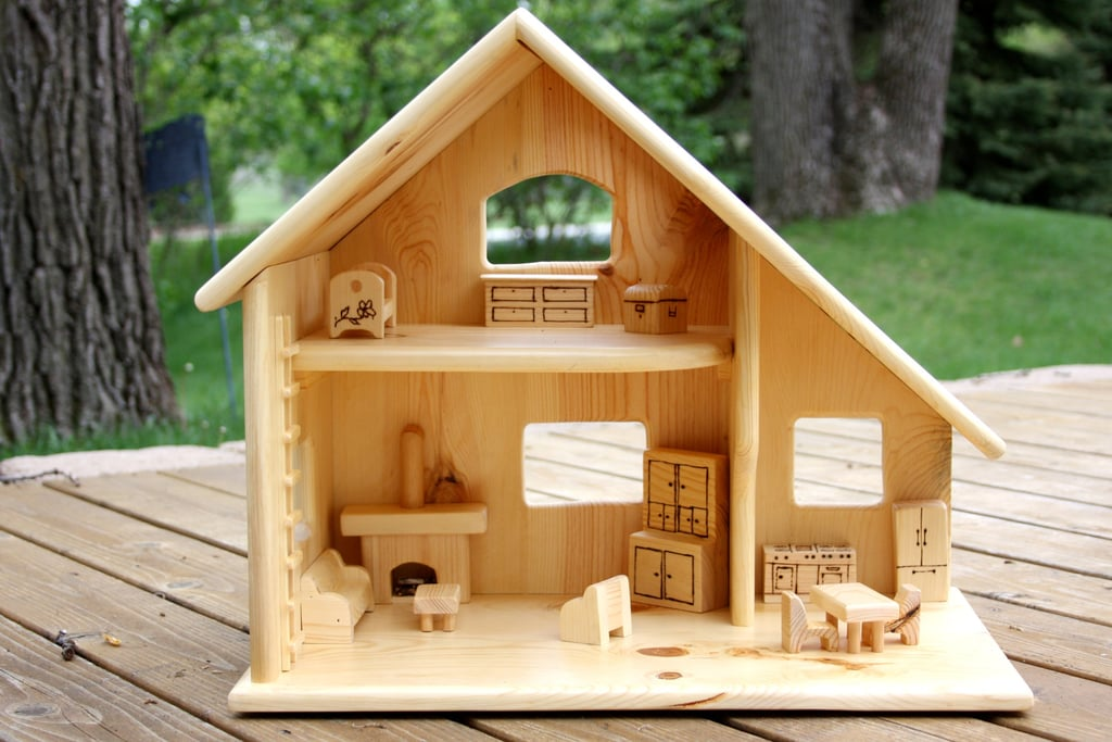 Wood Doll House ($135)