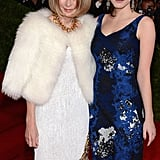 Anna Wintour posed with Bee Shaffer at the Met Gala.