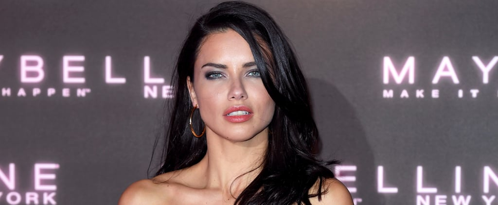 You'll Never Guess Where Adriana Lima Got a New Piercing