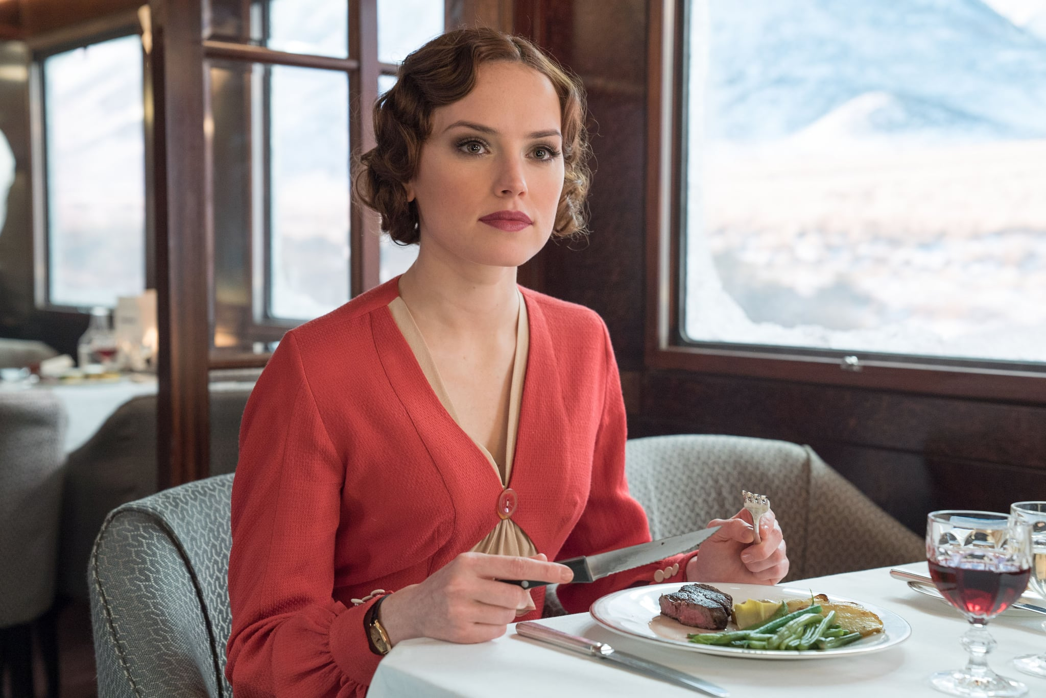 「Murder on orient express food」の画像検索結果