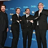 Pictured: Steve Carell, Ryan Gosling, Christian Bale, and Adam McKay