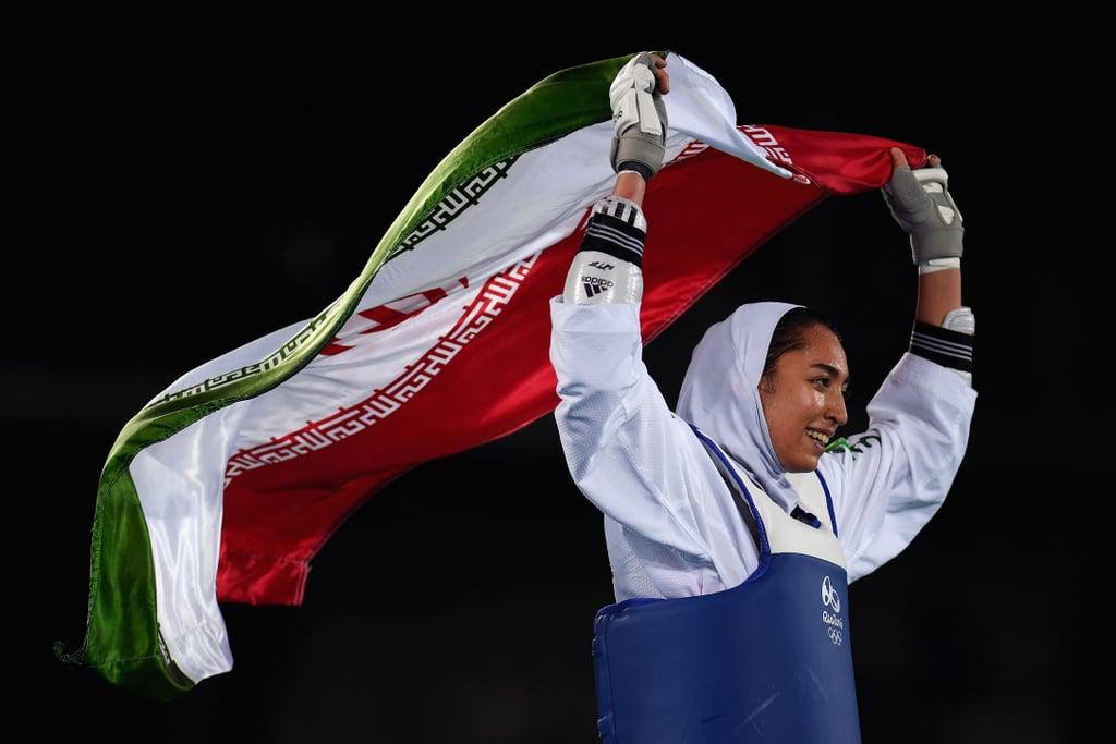Kimia Alizadeh Zenozi, Taekwondo