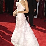 Frothy gorgeousness at the 2003 Emmy Awards.