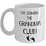 First Time Grandma Coffee Mug