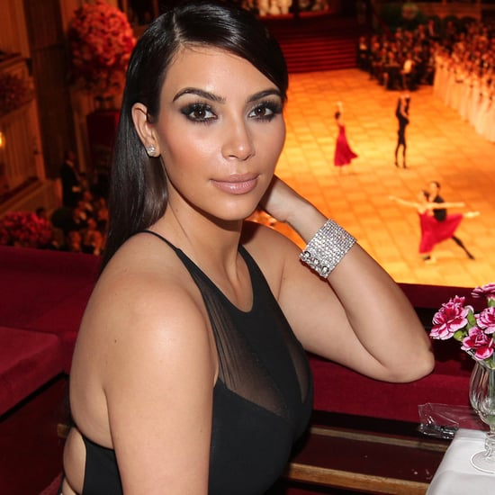 Kim Kardashian Sheer Dress at Vienna Opera Ball