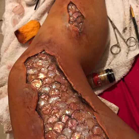 Mermaid Scales Special Effects Makeup