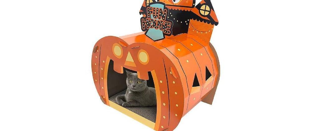 Target Halloween Cat Scratcher Houses