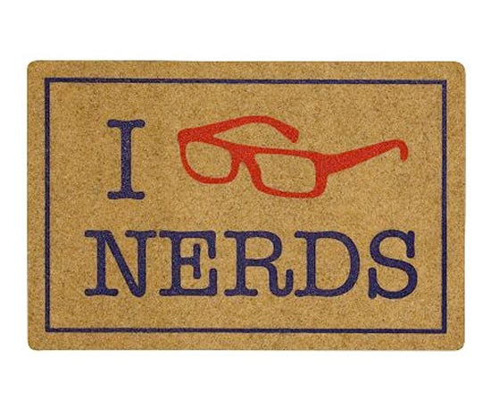Student lounge nerds doormat 5 geeky doormats popsugar tech photo 1 - Geeky welcome mats ...