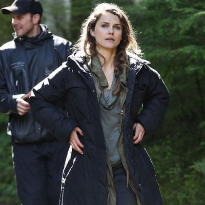 Keri Russell on Planet of the Apes Set | Photos