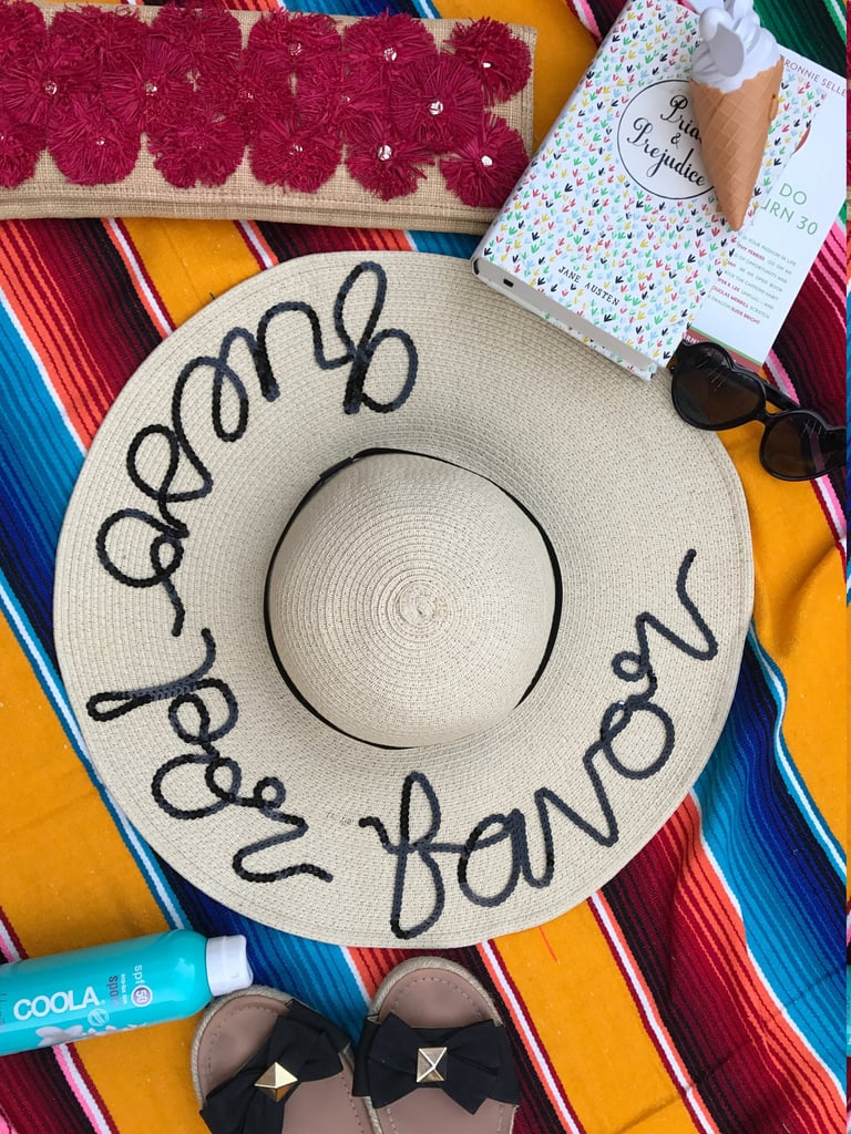 Queso Por Favor Floppy Hat ($60)