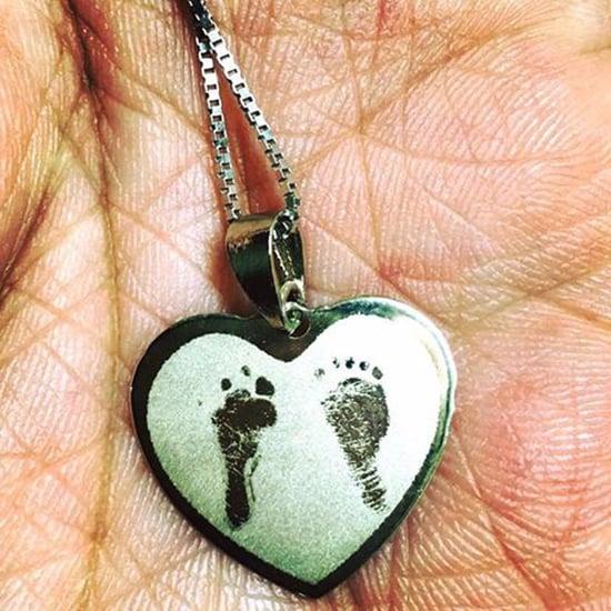Women Bond Over Their Stillbirths Through Footprint Necklace