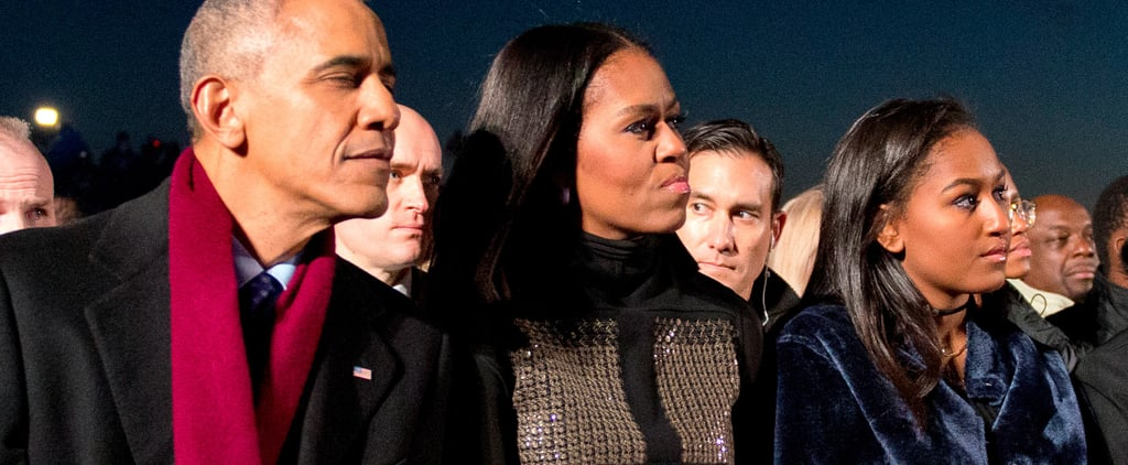 Michelle Obama Didn't Repeat This Holiday Outfit, but She Came Pretty Close