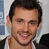 Hugh Dancy gave a smile at the premiere of Hysteria at the 2012 Tribeca Film Festival.