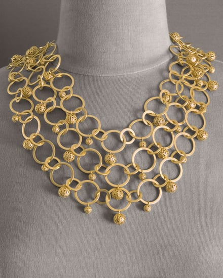 Bold in Gold: Chunky Gold Jewelry
