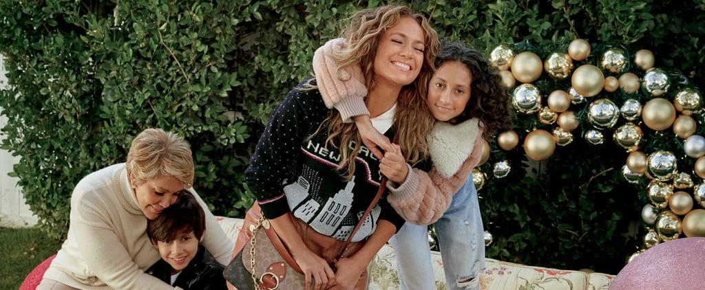 Jennifer Lopez and Michael B. Jordan Coach Holiday Campaign