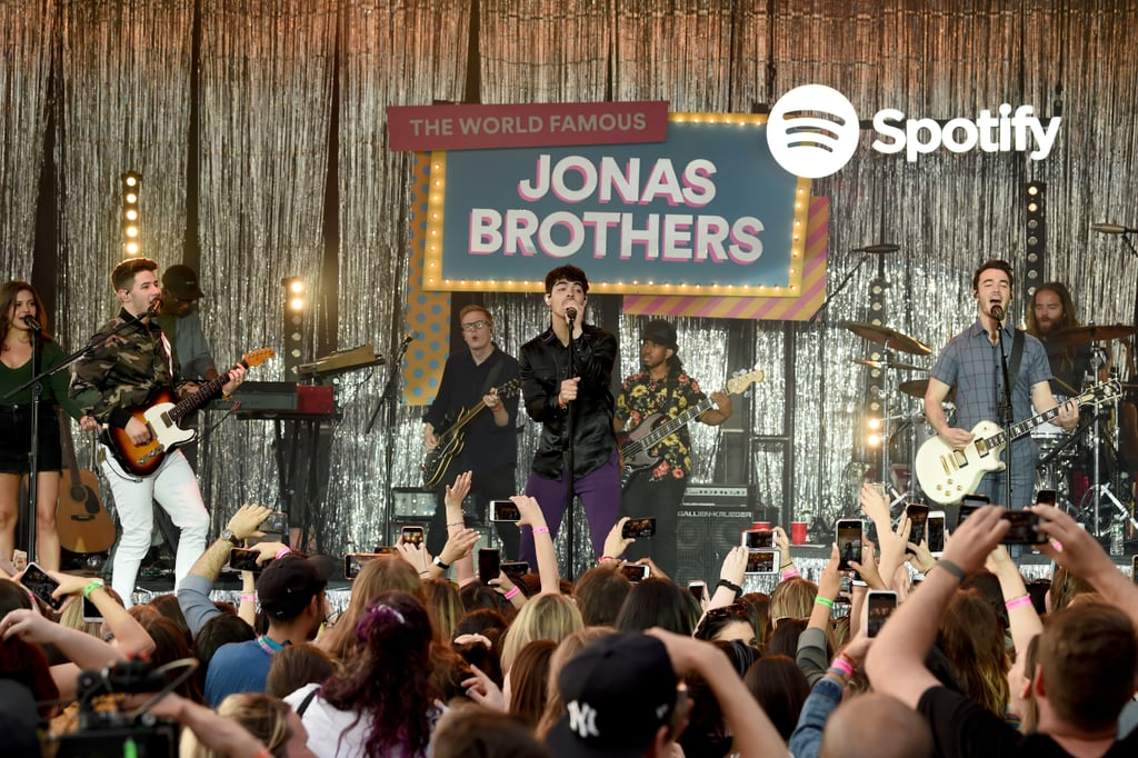 June: The Jonas Brothers Celebrated the Release of Their Album With Spotify