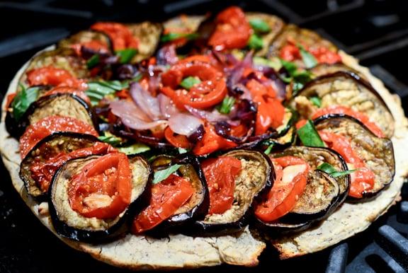 Roasted Ratatouille Pizza