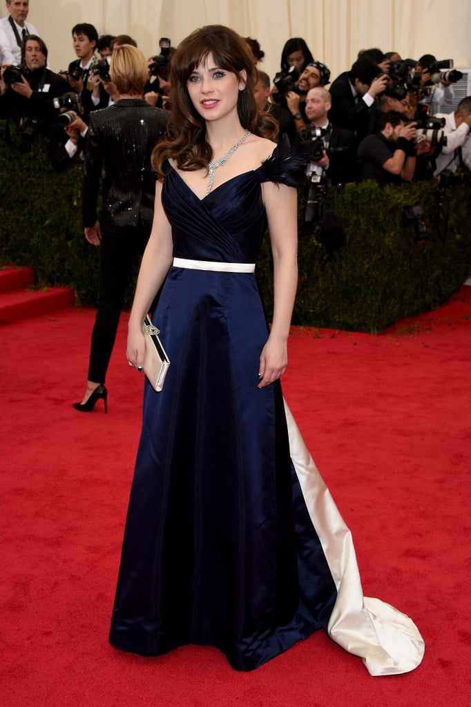 Zooey Deschanel at the 2014 Met Gala