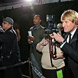 Owen Wilson turned the tables on a photographer outside of The Beverly Hilton.