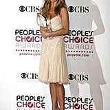 Jennifer Aniston in Versace at the People's Choice Awards