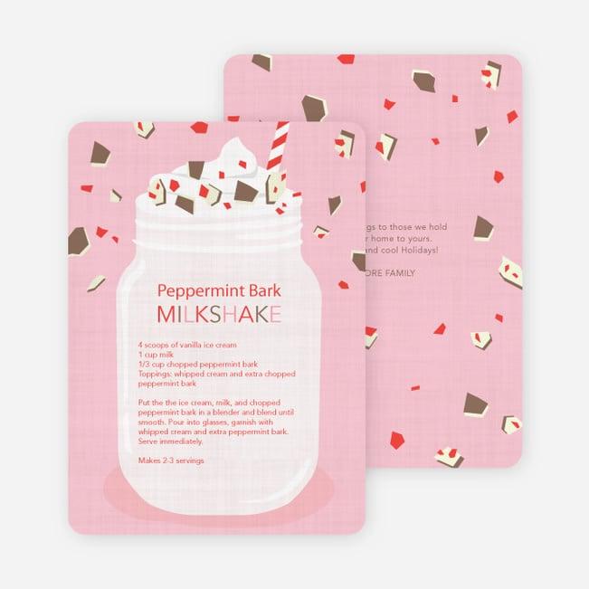 Paper Culture Peppermint Milkshake Recipe