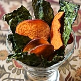 Giada De Laurentiis's Baked Kale and Sweet Potato Chips