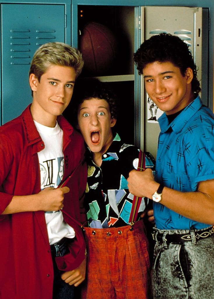 zack screech and slater from saved by the bell halloween costume ideas for best friends popsugar entertainment photo 8 - Saved By The Bell Halloween Costume