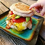 Let a slice of low-fat Swiss melt between the egg and bun for a gooey but healthy kick of flavor.