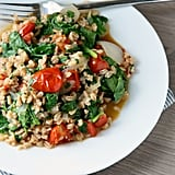 One-Pot Tomato and Spinach Farro