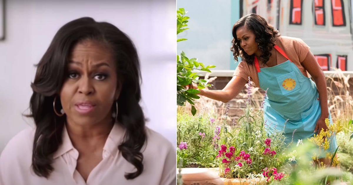 Watch Michelle Obama Gush About Her New Kids' Show and Its Campaign to Help Feed US Families