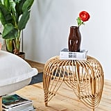 Petal Rattan Side Table