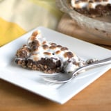 Dark Chocolate Marshmallow Pie