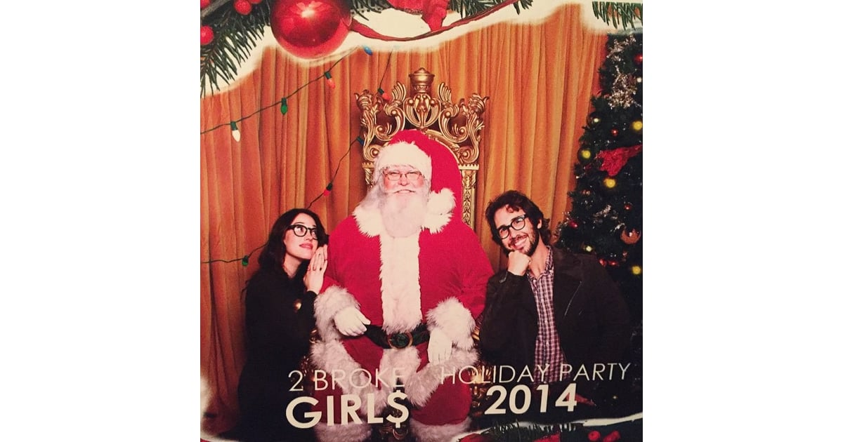 In 2014, Kat Dennings and Josh Groban caught up with Santa Claus ...