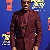 Shameik Moore at the 2019 MTV Movie and TV Awards