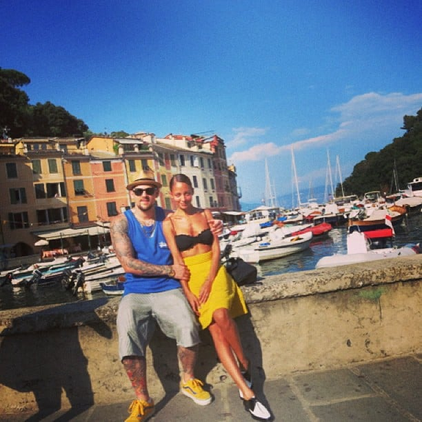 Nicole Richie and Joel Madden showed sweet PDA during their vacation in Portofino, Italy. Source: Instagram user nicolerichie