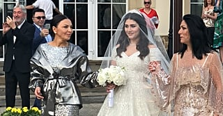 This Billionaire Heiress's Embellished Wedding Dress Is So Stunning, Your Heart Will Stop