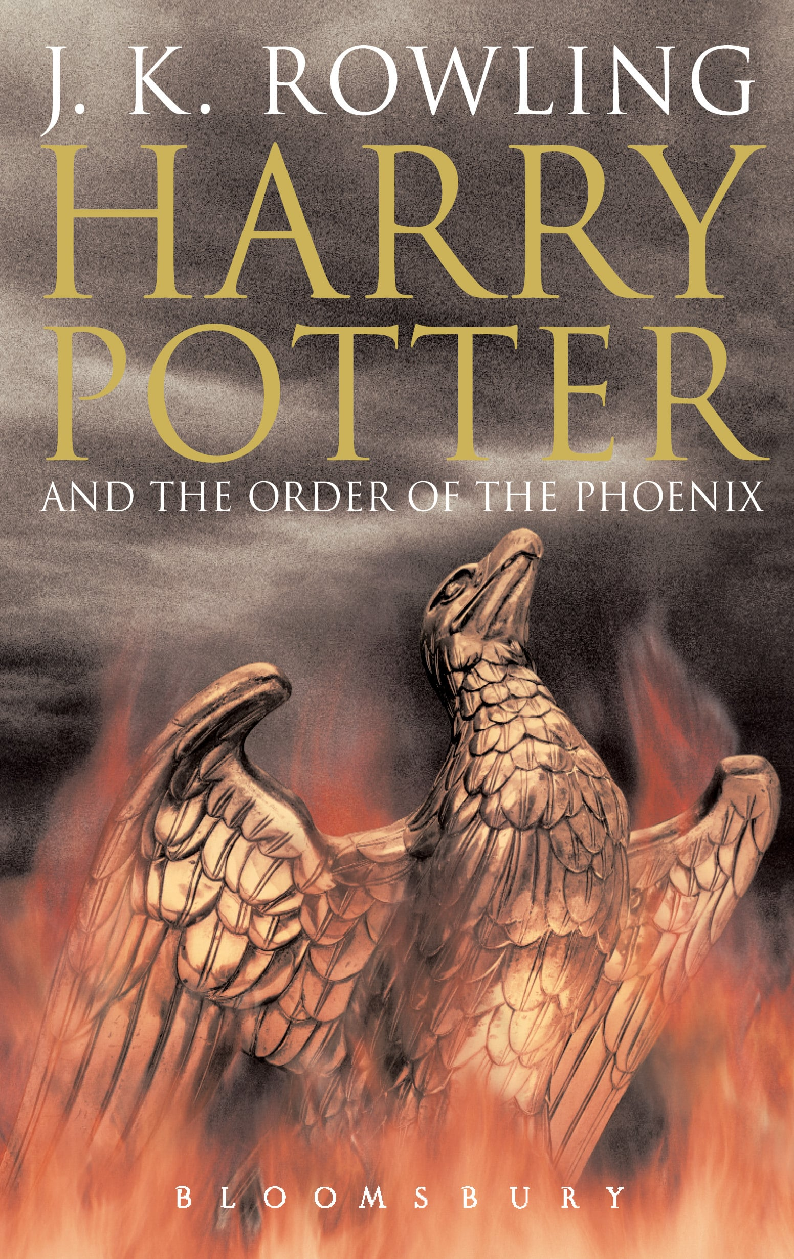 Harry Potter and the Order of the Phoenix, UK Adult